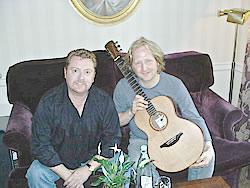 Eric Roche & Martin Taylor, Bath Aug 03